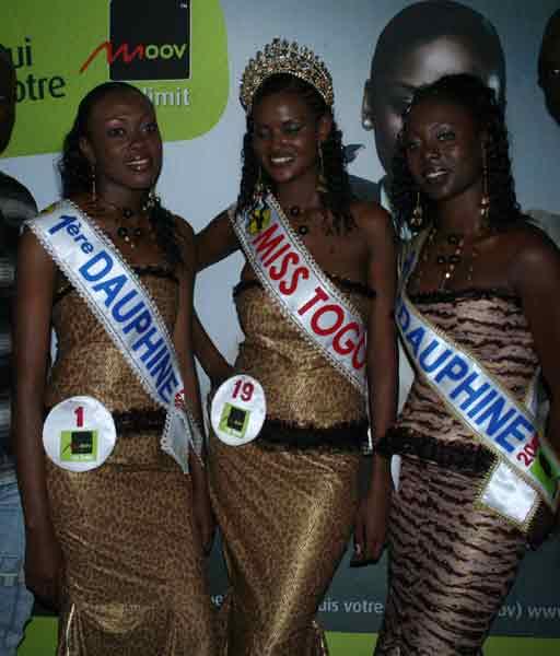 Miss Togo 2012 unseen photographs